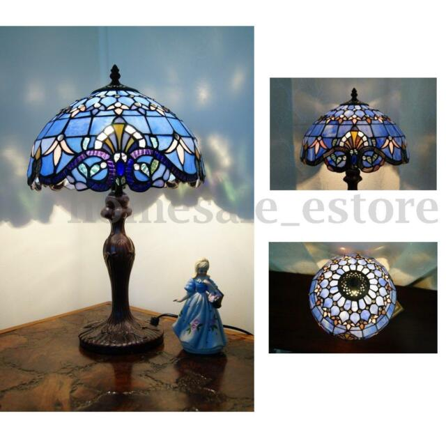 Classical baroque style stained glass table lamp floral bedside classical baroque style stained glass table lamp floral bedside light room decor aloadofball Choice Image