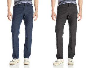 Flat uomo 79 Klein Pantaloni nuovi Front Straight Fit Herringbone casual Calvin YqWwR4