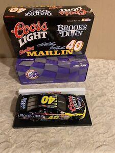 40-NASCAR-1-64-1999-MONTE-CARLO-COORS-LIGHT-BEER-BROOKS-amp-DUNN