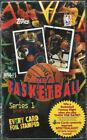 1994-95 Topps NBA Basketball Cards Series 1 Box. Factory