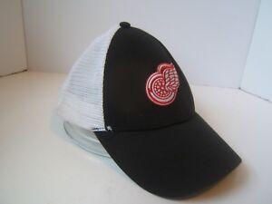 3b266c123e Detroit Red Wings Snapback Trucker Hat Bud Light Beer NHL Vintage ...