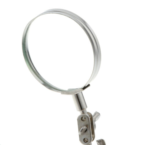 5X Helping Hand Auxiliary Alligator Clip Stand Desktop Magnifier Repair Tool