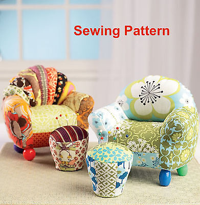 Kwik Sew K180 PATTERN - Pin Cushions - Ellie Mae Designs - Brand New OSZ