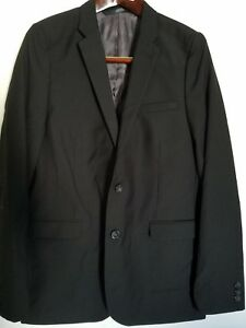 New Boys Blazer Suit Jacket Childrens Youth BLACK Size 14 HIGH Quality