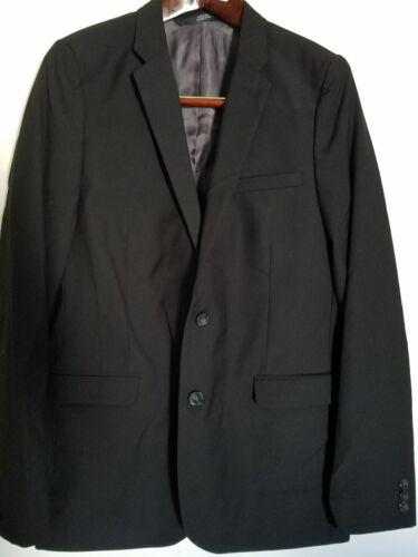 New Boys Blazer Suit Jacket Childrens Youth BLACK Size 18 HIGH Quality