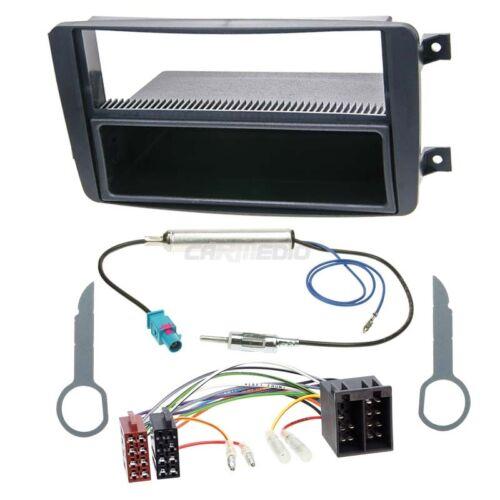 Mercedes C-Klasse W203 00-04 1-DIN Autoradio Einbauset Adapter Kabel Radioblende