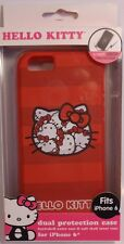 Hello Kitty iPhone 6 Dual Protection Phone Case Hard Outer Shell Soft Inner Case