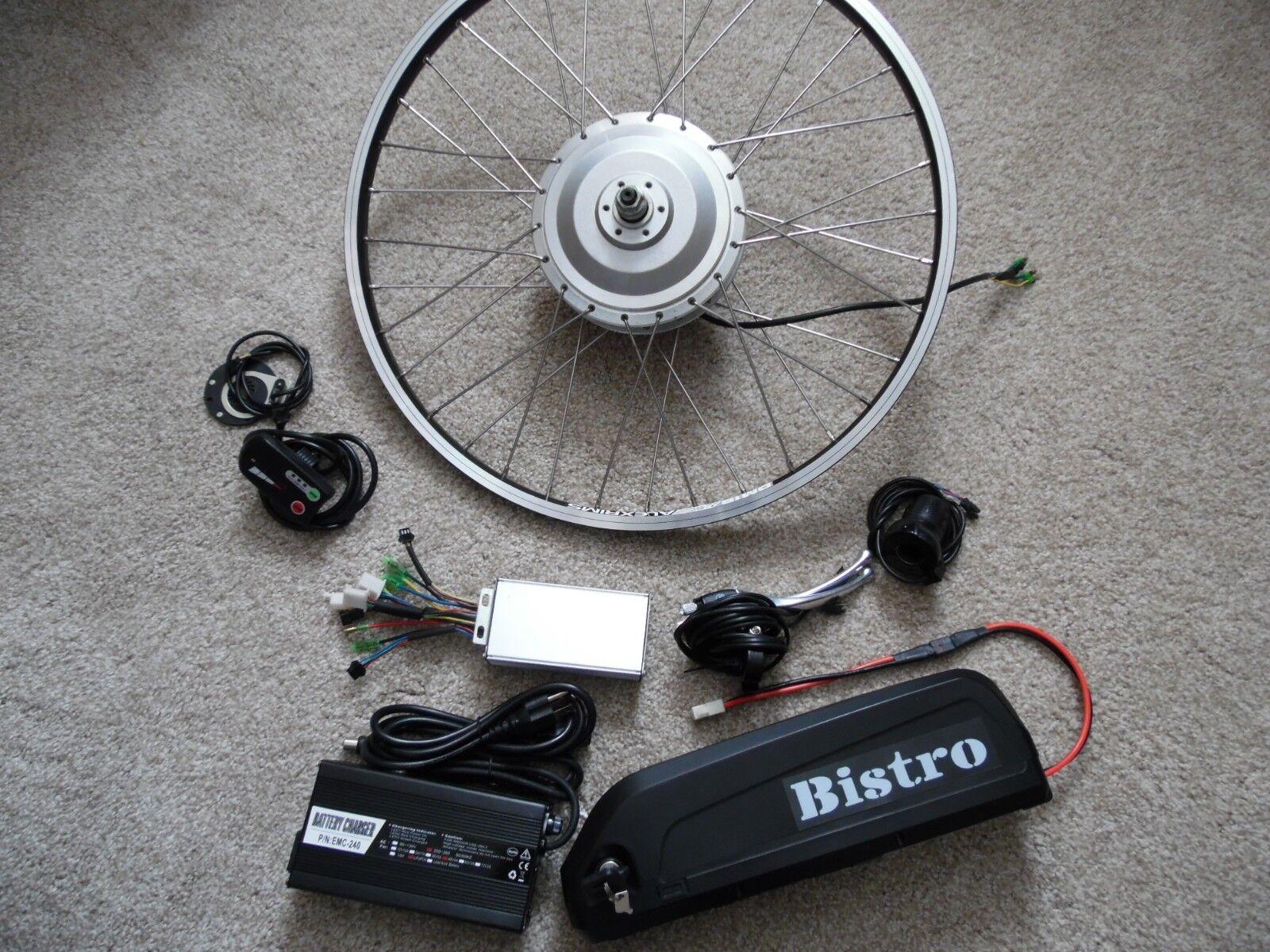 8fun electric bike 24  disc motor 48V 1400W Max hill climber   48v 17ah battery