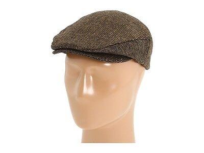 Brixton Mens Hooligan Hat,Brown/Khaki, Large NWT