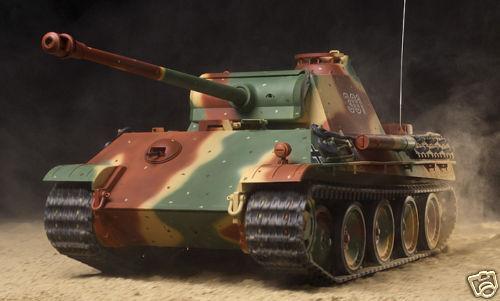 1/16 R/C  PANTHER TYPE G   Tamiya  DMD  MF German WWII Tank  Model  Kit  56022