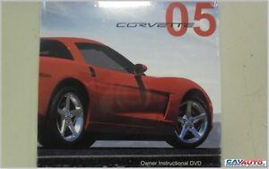 Libretto-Uso-e-Manutenzione-originale-IN-DVD-per-CORVETTE-C6-2005