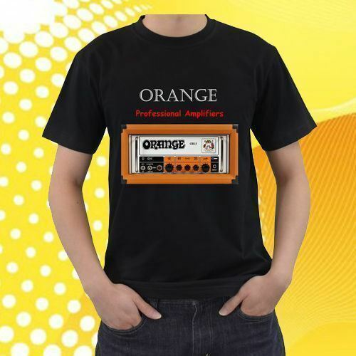 NEW DEAL !! Orange Or15h Guitar Amp Men's T-Shirt Size S-2XL