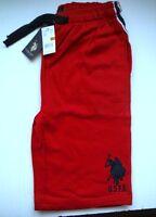 Polo Shorts Boys Red Shorts School Athletic Shorts Pockets 8 10/12 14/16 18