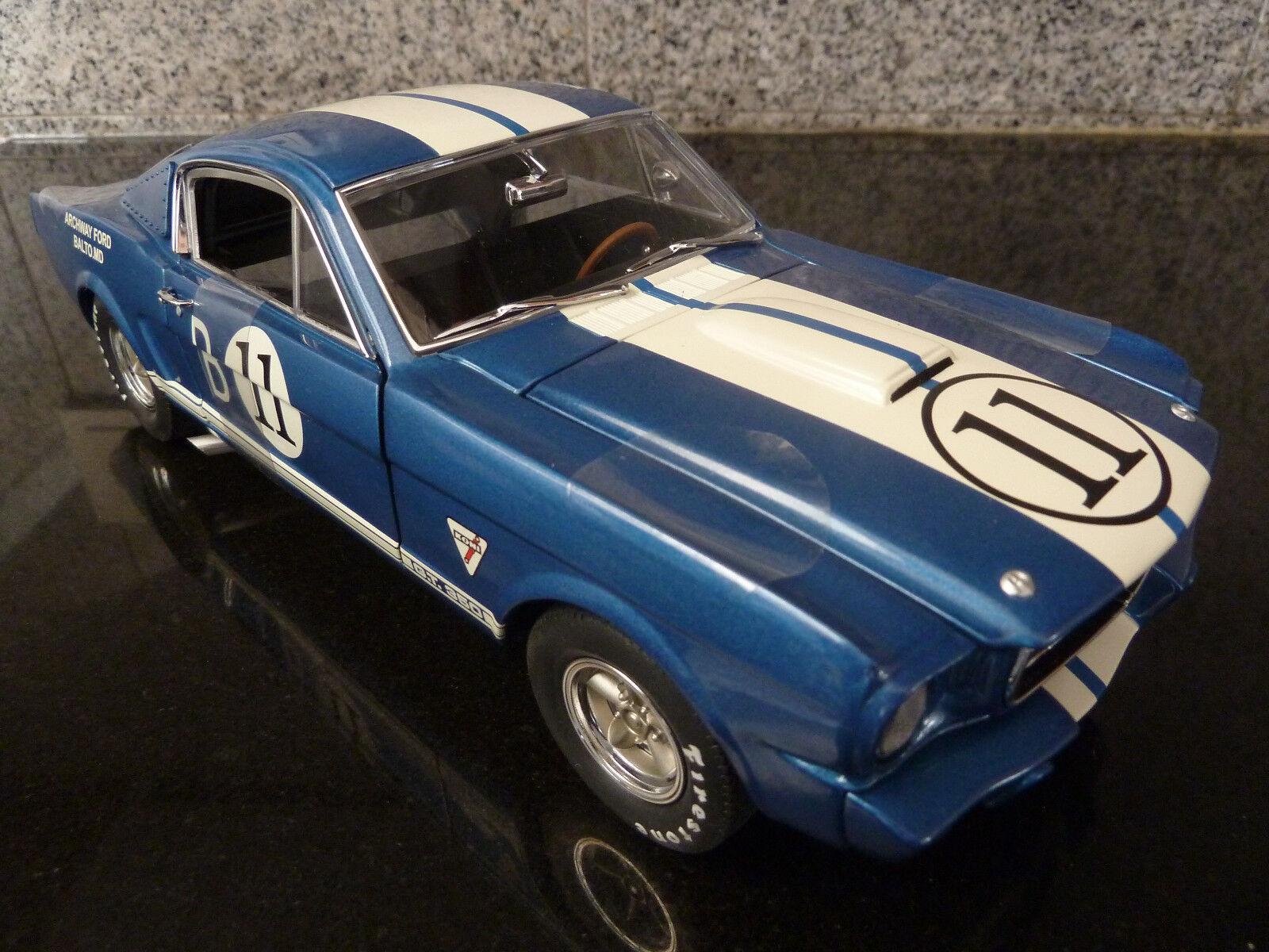 edición limitada 1 18 18 18 GMP, Shelby Mustang GT 350r, Mark Donohue,  11  muchas concesiones