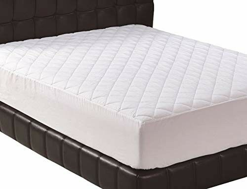 Mattress Cover Quilted Fitted Pad Topper King Size Allergens,Dust Mites Protect