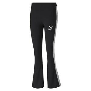 PUMA-Classics-Logo-Women-039-s-Flared-Leggings-Sport-Classics