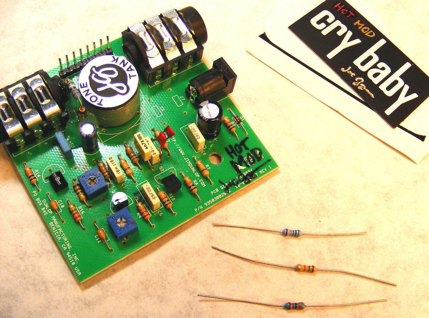 Nuevo HOT MOD Crybaby placa placa placa de circuito impreso en-DROP bajo precio, gcb95 Mod, sin soldadura, Dunlop Wah  ventas en línea de venta