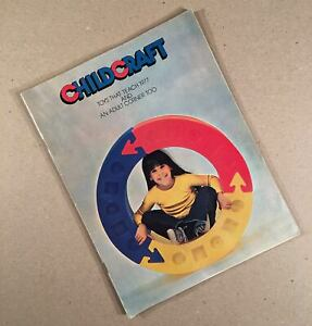 Edison NJ: 1977 CHILDCRAFT EDUCATION CORP. 56-Page Full Color Toys, More Catalog