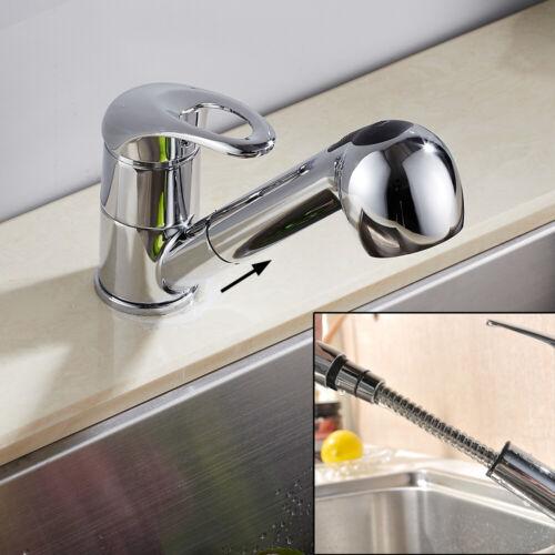 360° Ausziehbar Küchenarmatur Spültischarmatur Wasserhahn Schwenkauslauf