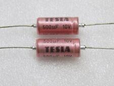 1uf 350V AXIAL ALUMINUM ELECTROLYTIC CAPACITORS NAE1M350V10X21mm NIC QTY 10