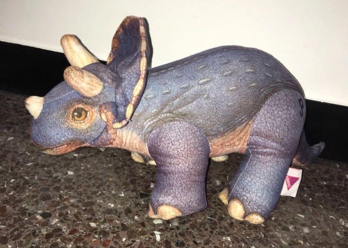 DAKIN pupazzo peluche triceratopo dinosauro