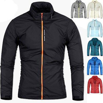 Hart Arbeitend Mens Athletic Stadium Tracksuit Windbreak Coat Blazer Jacket Jumper Top B028
