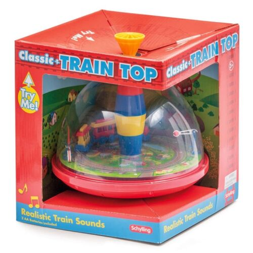 ELECTRIC TRAIN TOP 15149BM RETRO CLASSIC TRADITIONAL SPINNING REALISTIC SOUNDS