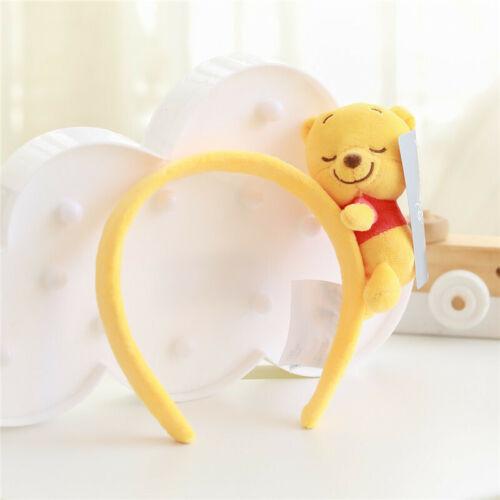girl hairband Jumping Tiger Winnie Pooh Plush Doll Headband Hair Accessories