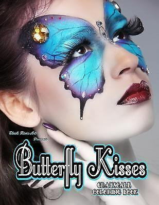 Butterfly Kisses Grayscale Coloring Book by Karlon Douglas ...