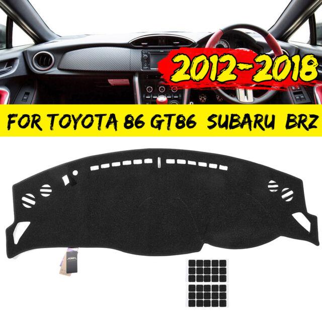 Car Dashboard Sun Cover Dashmat Dash Mat Pad For Toyota 86 Subaru BRZ 2012-2018