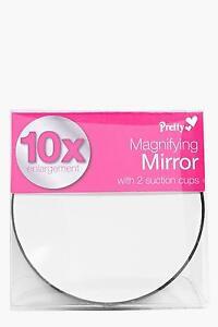 Pretty Magnifying 10 X Enlargement Travel Mirror 85177
