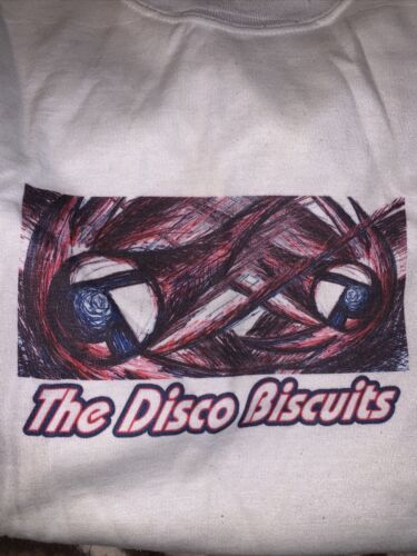 VTG THE DISCO BISCUITS T SHIRT BAND CONCERT XL 199