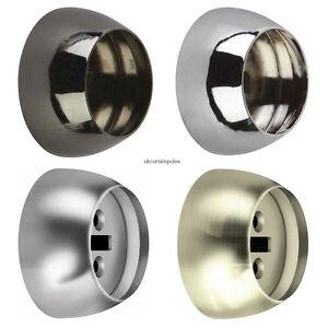Rolls Neo Mm Curtain Pole Recess Bracket Ebay