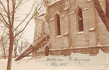 B76931 Bucovina Biserica Distrusa Destroyed church World War 1915 suceva romania