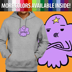 Details about Adventure Time LSP Lumpy Space Princess Sassy Fun Pullover Hoodie Hooded Sweater