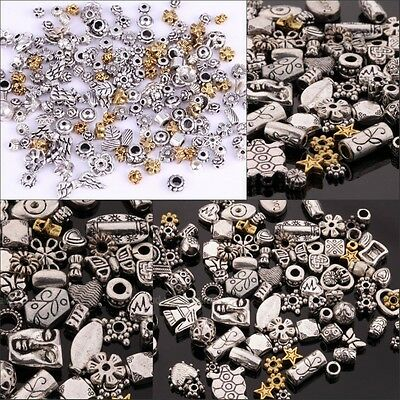 Charm 50g(about 90pcs) Mixed Color Flower Caps/Spacer Beads For Jewelry making