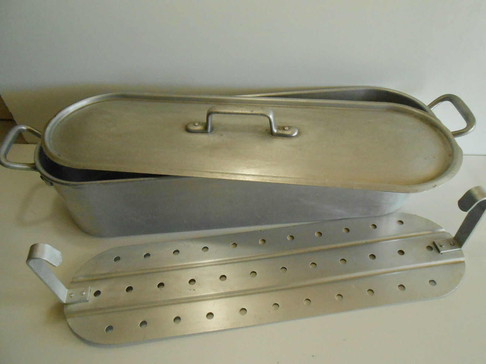 POISSONNIERE UNIS FRANCE FRANCE FRANCE  60CM X 17CM   FISH KETTLE   POATCHER c1b727