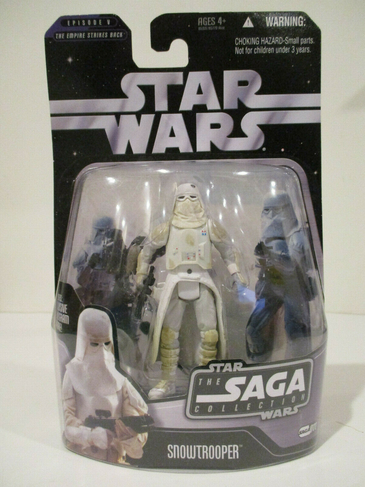 STAR WARS THE SAGA COLLECTION GALACTIC HUNT SNOWTROOPER #11