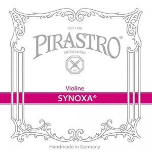 Pirastro-synoxa-4-4-Violin-Violino-Set-di-corde-medio-e-Sfera-O-cappio