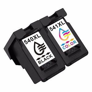 2x-PG540XL-CL541XL-Negro-Tricolor-Cartuchos-de-tinta-Para-Canon-Pixma-MG4200