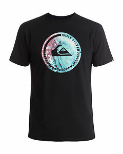 NEW-QUIKSILVER-Mens-Active-surf-Logo-T-Shirt-Tee-Tops
