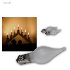 3er Pack Ersatz LED Windstoß E10 Glühbirne Topkerze für Lichterkette Schwibbogen