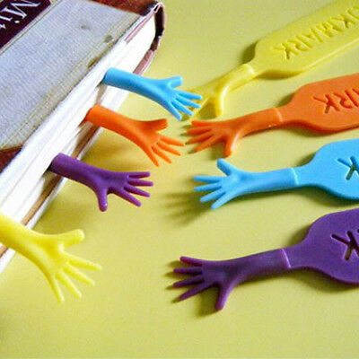 4PCS Funny Help Me Bookmarks Pad Note Stationery Book Mark Novelty Gift New