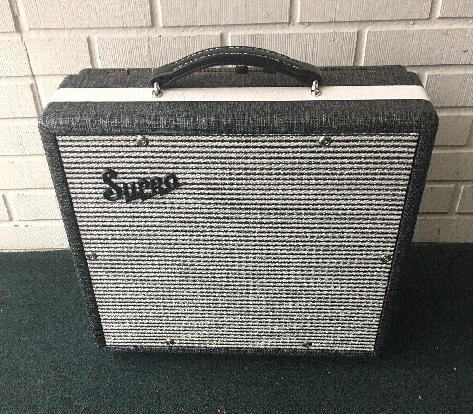Supro 1600 Supreme 1x10 Combo Combo Combo Tubo Amplificador De Guitarra En Caja Como Nuevo  precios ultra bajos