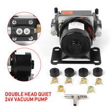 Dual Micro Vacuum Pump Double Head Gas Transfer Air Pump 400kpa Dc 24v 60w