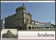Voorgefrankeerde ansichtkaart Arnhem Duivelshuis en stadhuis - Postcard