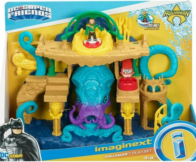 Fisher-Price Imaginext DC Super Friends Aquaman Playset - Brand New & Sealed