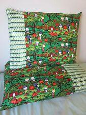 Peanut snoopy Halloween pattern 100% new Cotton handmade Pillowcase one pair