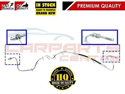 Rear Driver/'s Side Copper and Rubber Brake Pipe Kit Citroen C1 Front to Rear
