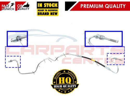 FOR PEUGEOT 307 LEFT PASSENGERS SIDE OUTER REAR BRAKE HOSE inc COPPER METAL PIPE